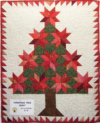 free patterns for christmas quilts   christmas tree quilt pattern the christmas tree quilt makes a ...