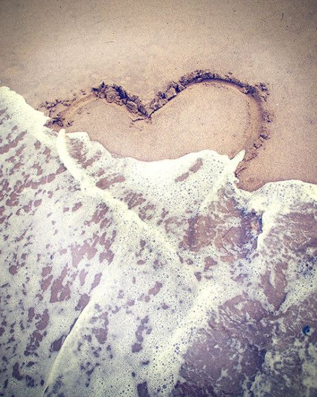 Heart in sand / Retro Love Photography http://www.etsy.com/shop/pinkfishjewelryshop