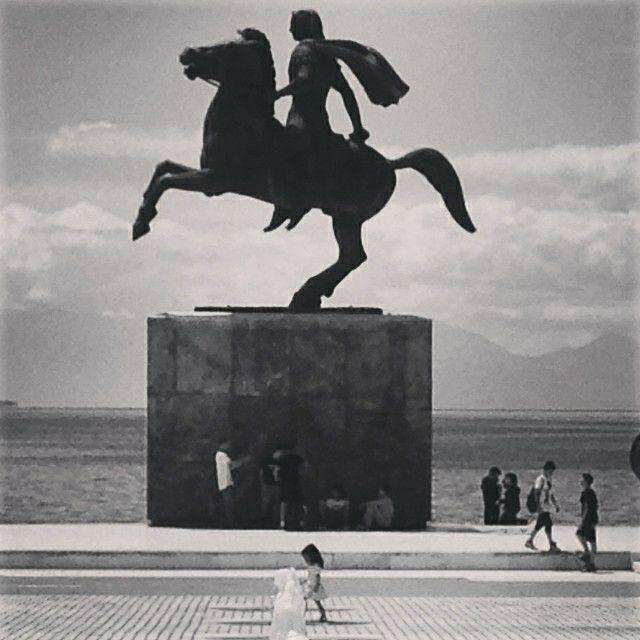 Thessaloniki, summer