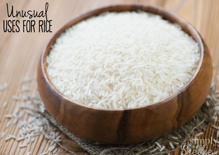 I bet you didn't know rice could be used for other things than eating. Here are a bunch of unusual uses for rice to try around your house. Tip #6 is one of my faves and I use it often. I'm excited to try #5.