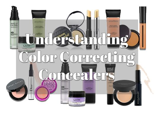how to use nyx colour correcting concealer