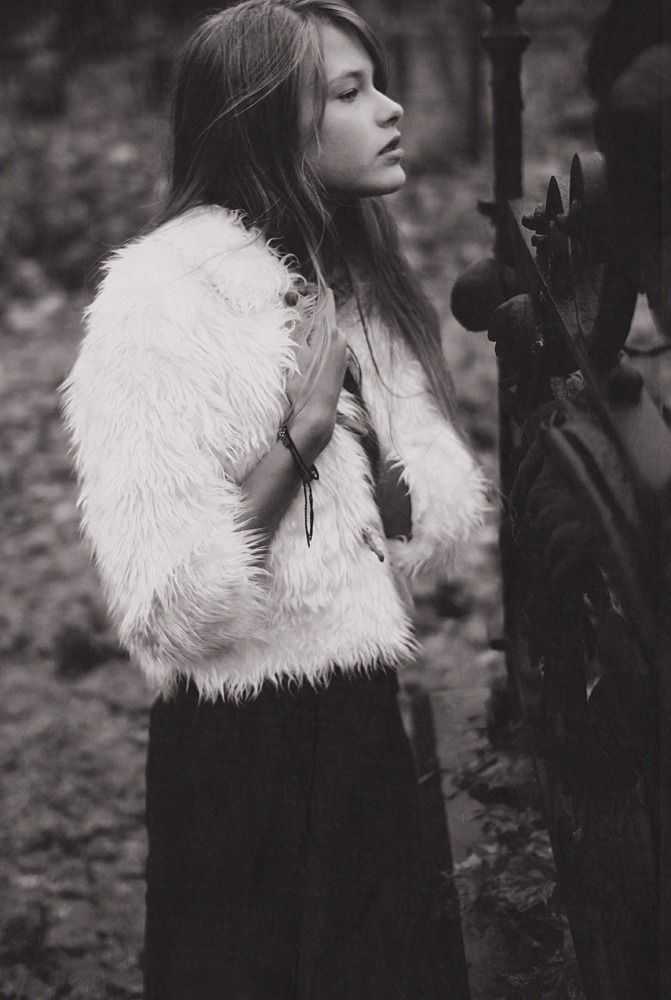 faux fur jacket and maxi skirt. winter fashion.