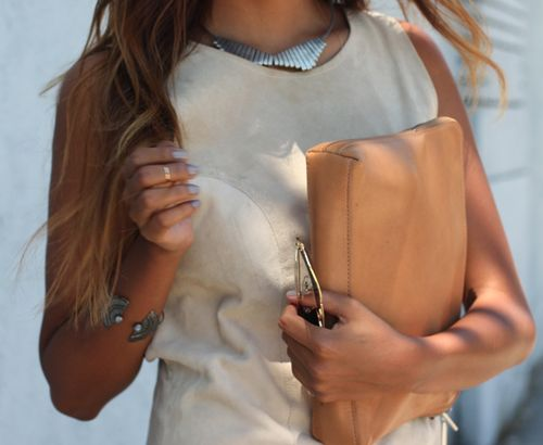 dying over this leather clutch