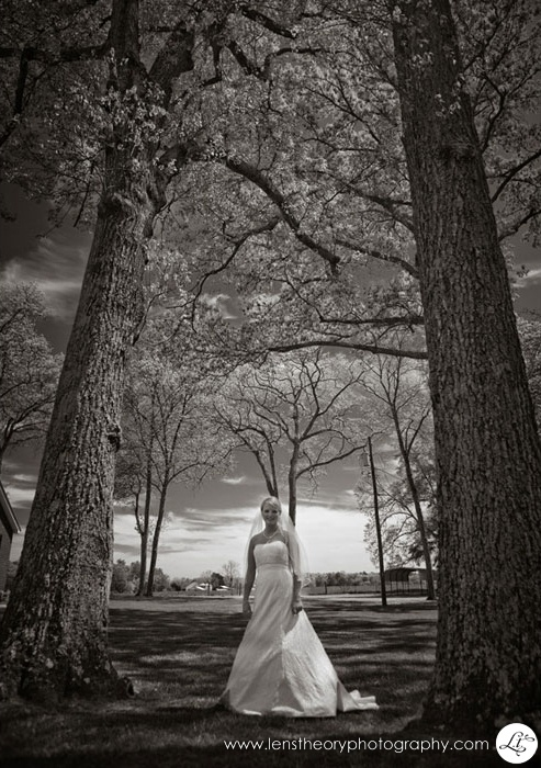 Bridal Portrait: by Lens Theory Photography