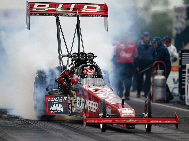 Budweiser Top Fuel Dragster