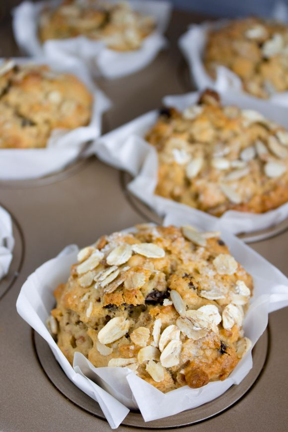 The Easy on-the-go Muesli, Raisin and Bran Muffins