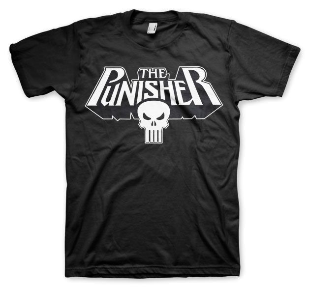 Marvel The Punisher Logo Koszulka Męska