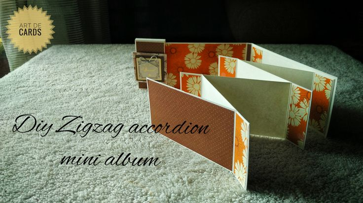 Its a zigzag accordion mini album layout #minialbum #accordion #zigzag #giftideas #gifts #handmade #handcrafted