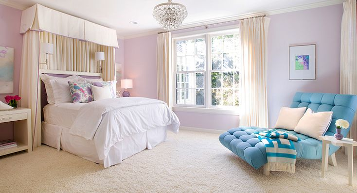 tracy hardenburg designs girl 39 s rooms beige carpet wall to wall carpet white bed skirt. Black Bedroom Furniture Sets. Home Design Ideas