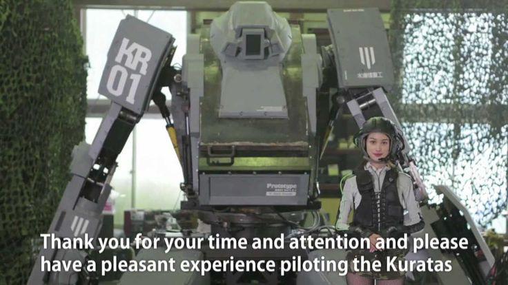Kuratas military robot.
