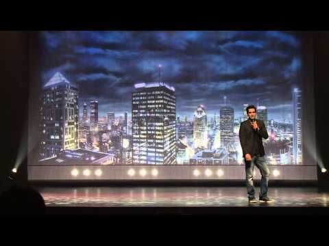 Humour: Sugar Sammy tombe sur trois Arabes à Brossard! - YouTube