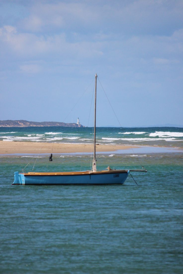 Sea change Barwon Heads looking back to Point Lonsdale light house in the distance