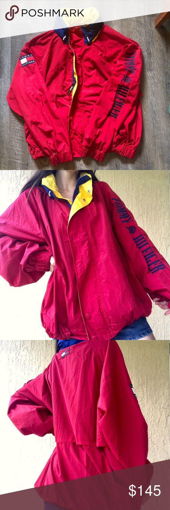 Tommy Hilfiger Jacket Vintage Authentic Tommy Hilfiger