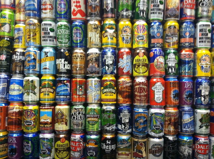 Craft Beer In Cans List
