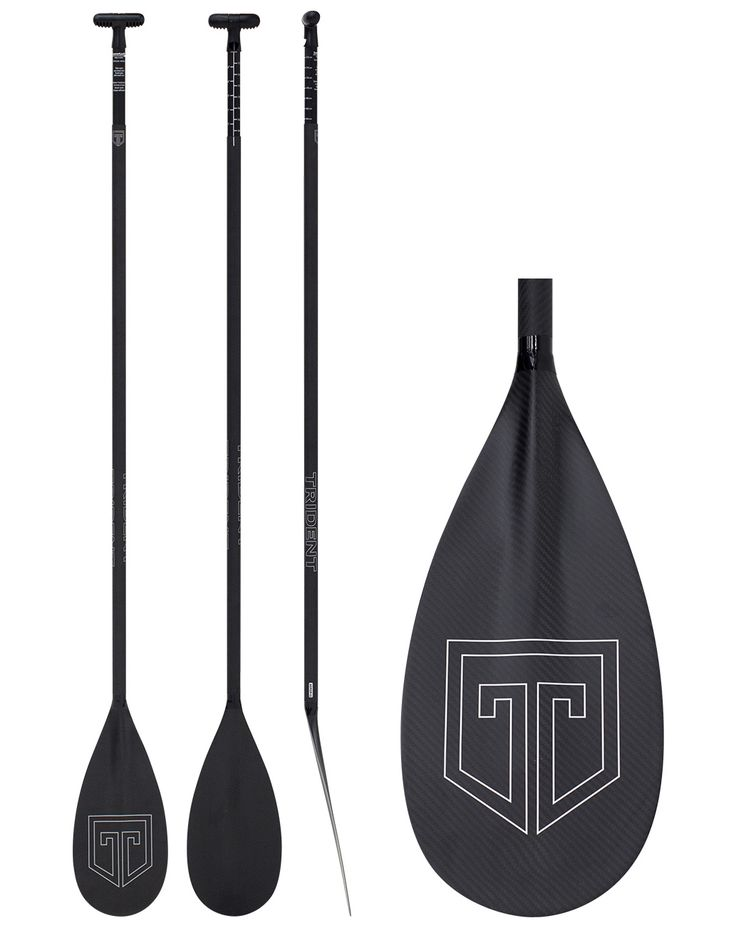TRIDENT T669CR-LL CARBON ADJUSTABLE SUP PADDLE - with LeverLock
