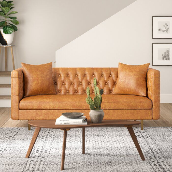 Quinton Sofa Leather Couches Living Room Faux Leather Couch Couches For Sale