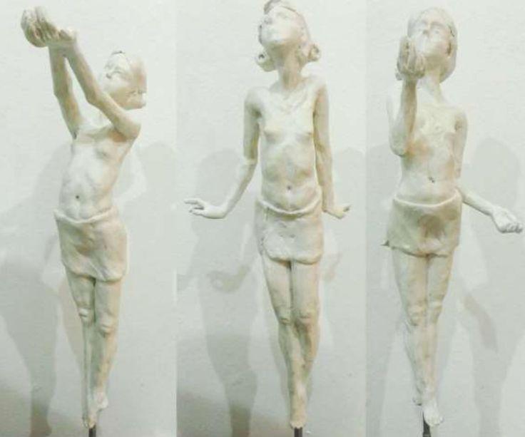 Gerhard van Eck : Coming of Age - Dew, Mist, Pelt. Set of 3 in Resin, Ed 1/20 | Candice Berman Fine Art Gallery Johannesburg