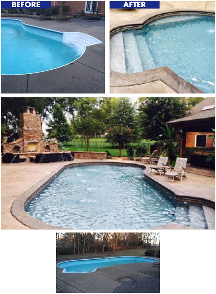 47 best tara before after gallery images on pinterest for Pool design services