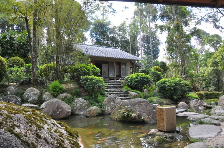 japanese garden at bukit tinggi, pahang