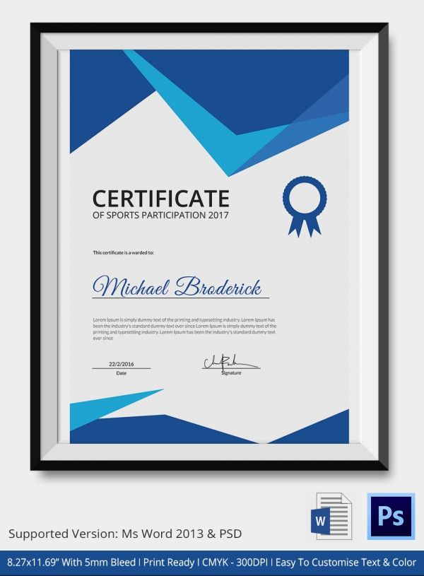 Best  Images On   Certificate Templates Award