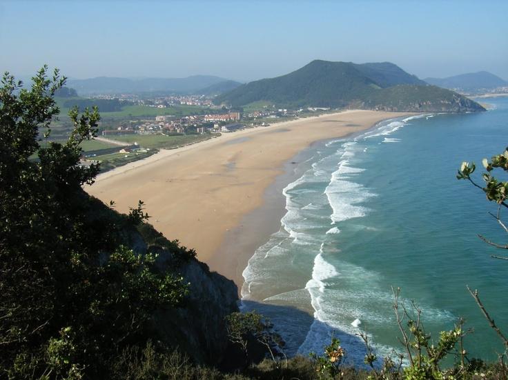 http://www.cantabriarural.com Playa de Berria #Cantabria #spain