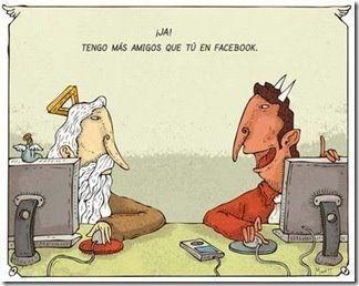Seguidores #facebook : Dios vs Diablo