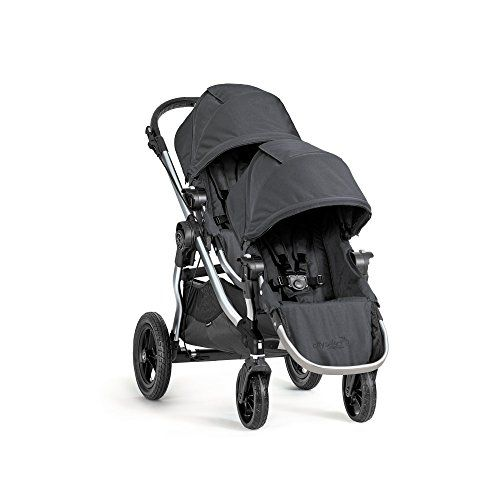 Baby Jogger 2016 City Select Double Stroller with 2nd Seat Onyx