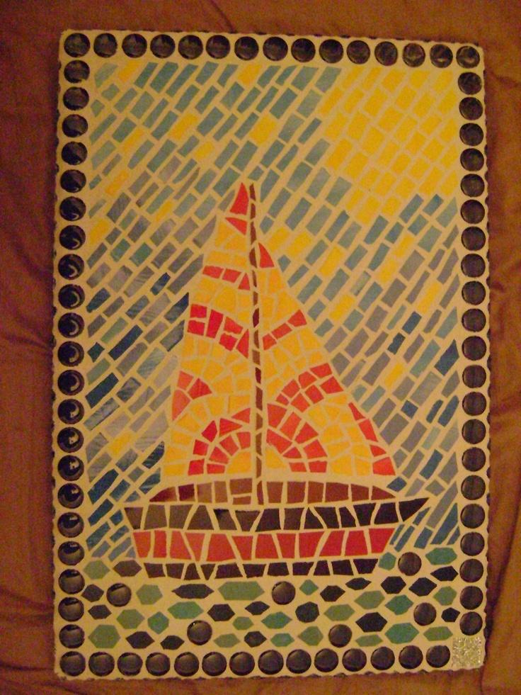 Mosaic - voilier