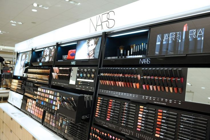 NARS, Nordstrom's beauty department.  Photo by Stefanie Keenan for WWD.