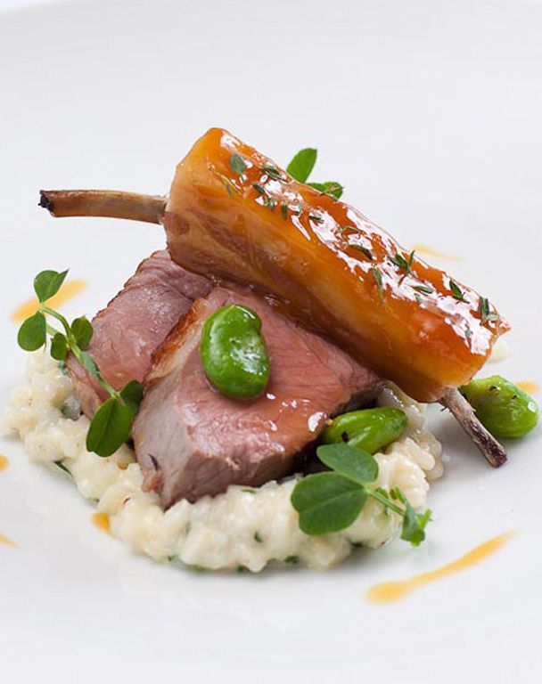 This lamb with wild garlic recipe is at its glorious best during spring, when all of the ingredients are seasonal. With a few tweaks, though, it can be enjoyed all year round. Ask your local butchers for both rump and rib of lamb/