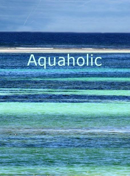 Gorgeous ocean colors. I'm an aquaholic!