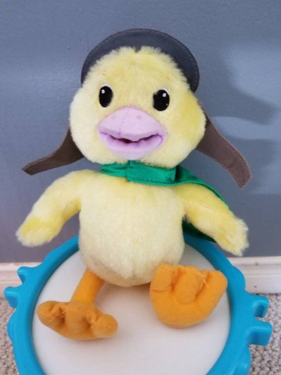 Check Out This Item In My Etsy Shop Https Www Etsy Com Ca Listing 693824461 Vintage Wonder Pets Ming Ming Duck Plush Wonder Pets Pets Plush Dolls