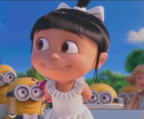Despicable Me Agnes Smile