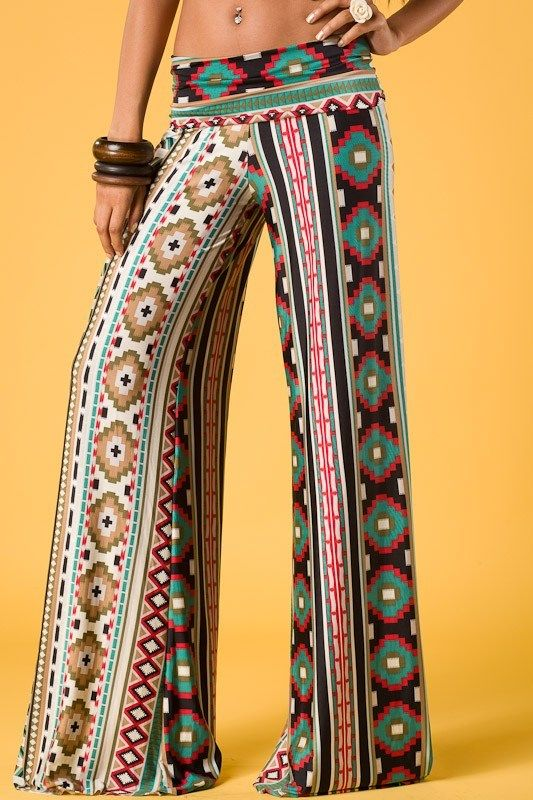 Back at the Ranch - Indian Maiden Tribal Palazzos, $29.00 (http://www.backattheranchtx.com/indian-maiden-tribal-palazzos/)