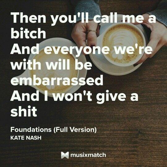 Kate Nash - foundations.