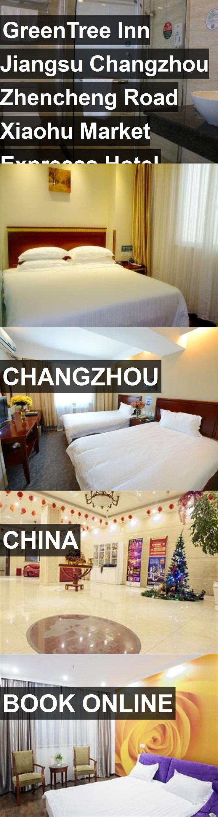 GreenTree Inn Jiangsu Changzhou Zhencheng Road Xiaohu Market Expreess Hotel in Changzhou, China. For more information, photos, reviews and best prices please follow the link. #China #Changzhou #travel #vacation #hotel