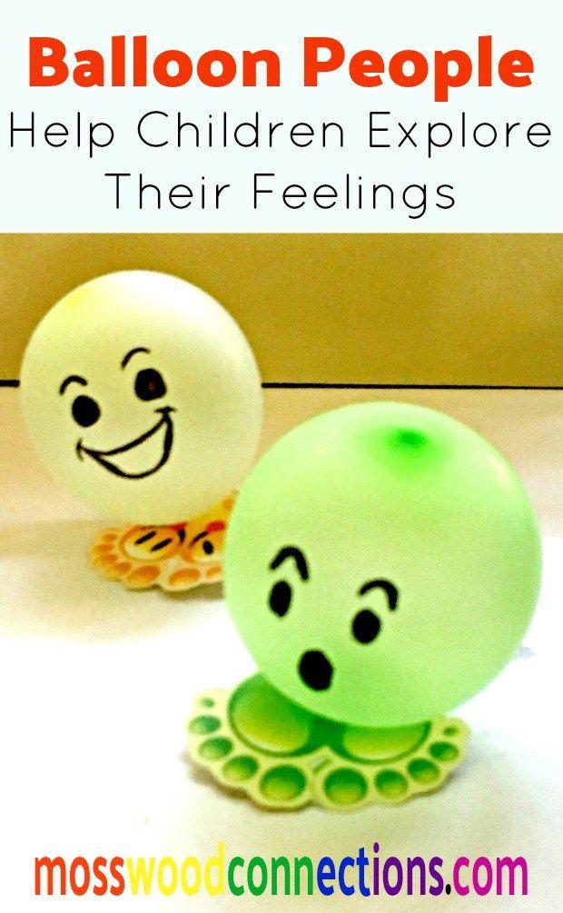 Balloon People Social Skills To Help Children Explore Their Feelings