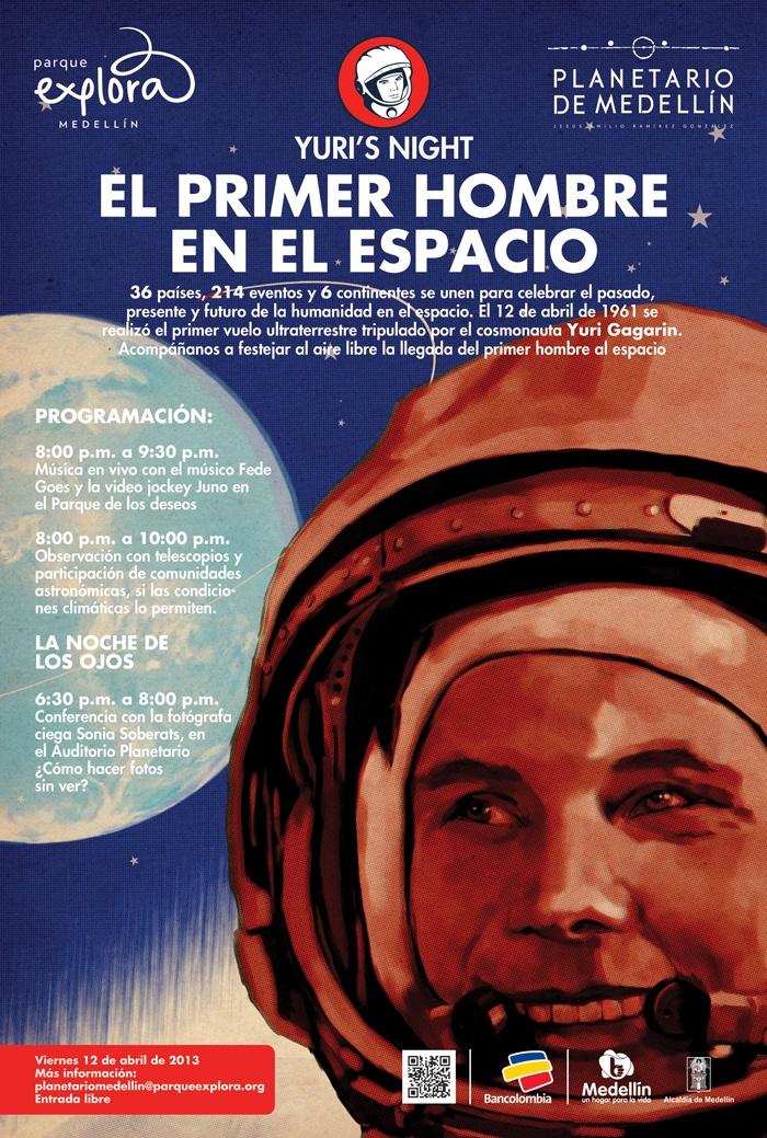 Yuri´s night  - El primer hombre en el espacio