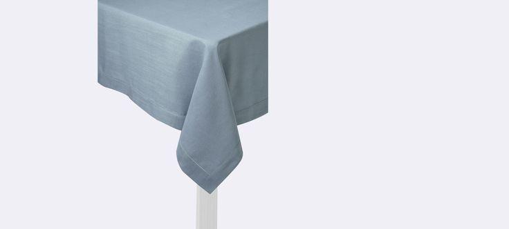Nappe anti t ches aspect lin gris perle for Miroir contour gris