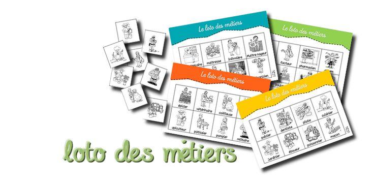 La maternelle de Laurène: Lotos vocabulaire