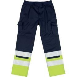 Mascot® - Arbeitshose Patos 12379-430, marineblau/gelb, C52, 76Toolineo.de