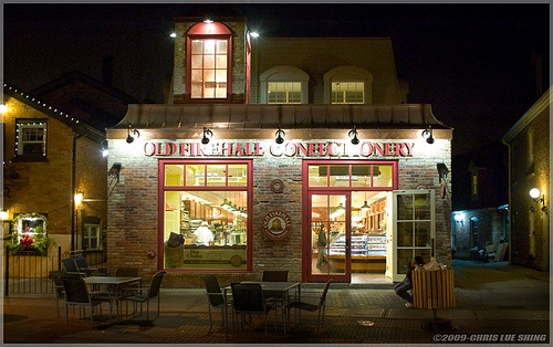 Old Firehall Confectionery, Unionville, Ontario -- this is the town they based Stars Hollow off of.