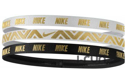 Nike Elastiques Hairband x3 - Accessoires running Casquettes / bandeaux Nike Elastiques Hairband x3