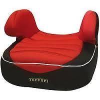 Official Ferrari Childs Car Dream Booster Seat 15kg-36kg Extra Padded