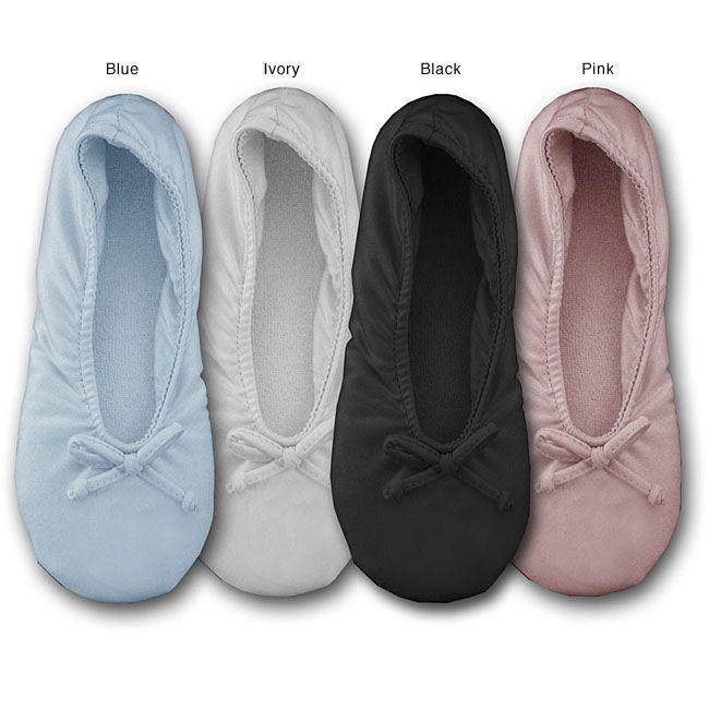 Soft Ones Women's Stretch Ballerina Slippers