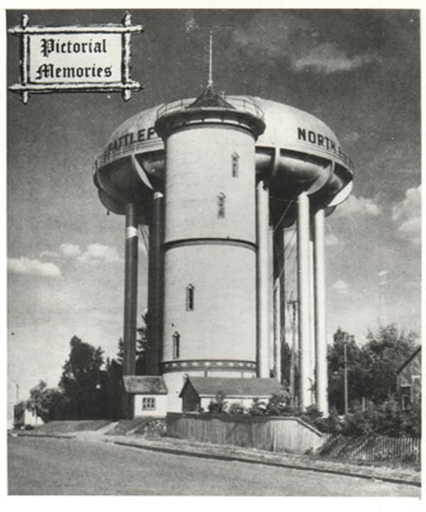 Two Water Towers