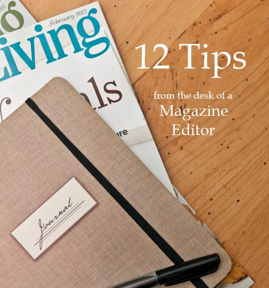 editorial tips