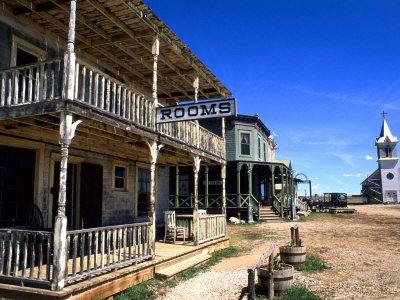1880's Ghost Town Murdo South Dakota