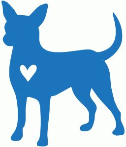 Silhouette Online Store - View Design #66594: chihuahua love