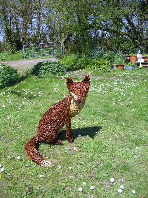 woody fox willow sitting fox - Google Search